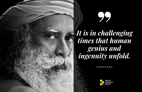 Sadhguru Quotes. No 1 motivational speaker in India