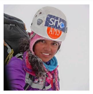 Saachi Soni, Mountaineer and TV Anchor