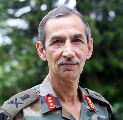 Lt Gen Deependra Singh Ho